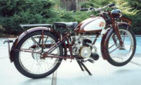 1946 James motorcycle