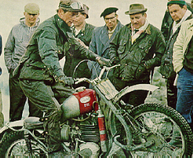 Don Smith on an Anglian, 1967